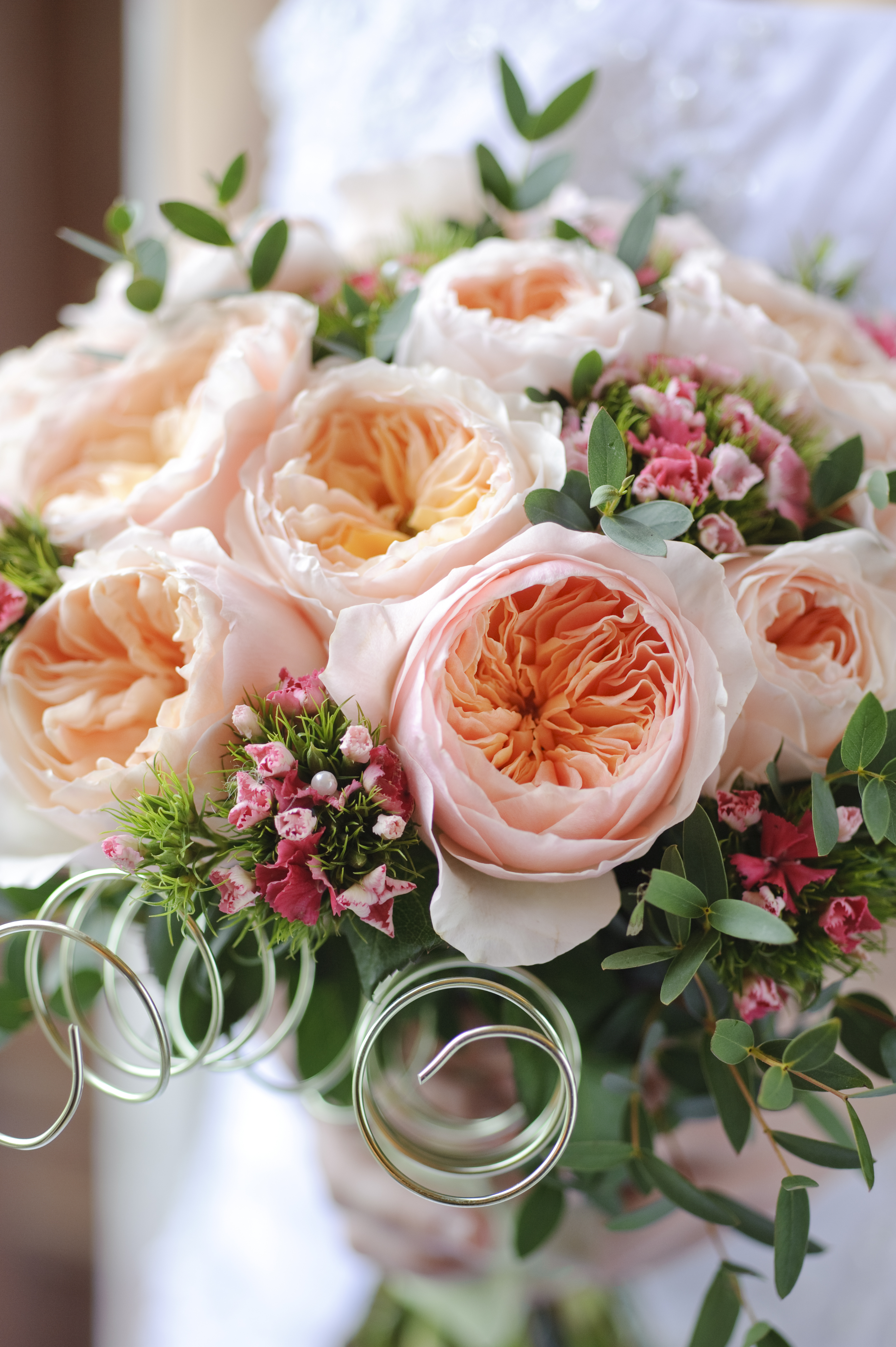 Juliet garden rose bouquet virgin farms - Garden rose bouquet ...